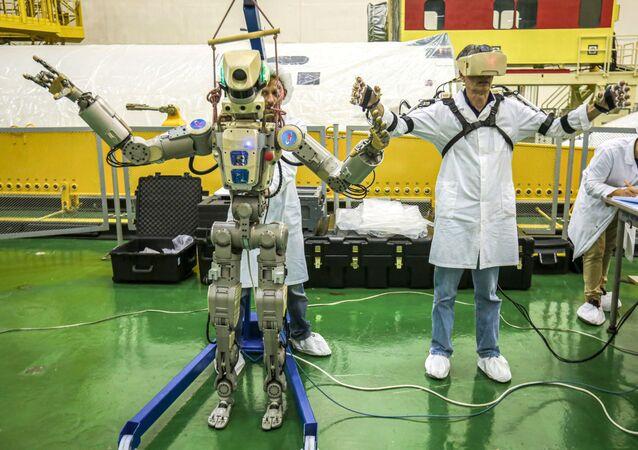 Rusya'nın uzaya gönderdiği ilk insansı robot FEDOR