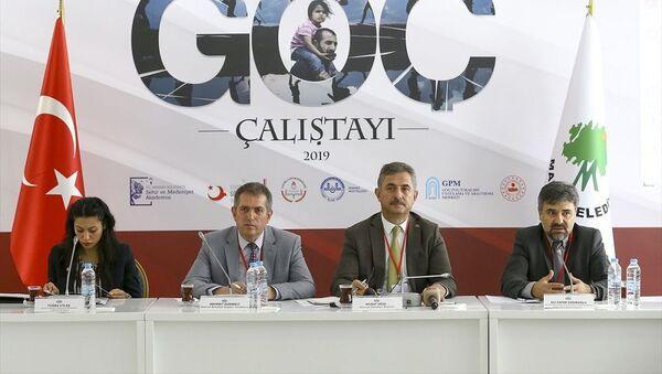 Göç Çalıştayı 2019, Ali Zafer Sağıroğlu, Murat Köse - Sputnik Türkiye
