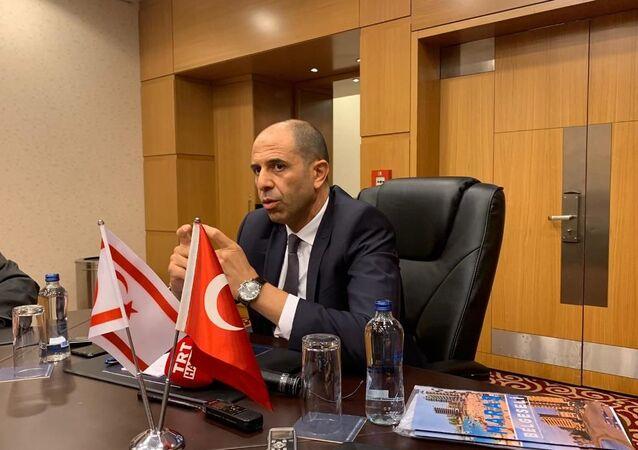 Kuzey Kıbrıs Başbakan Yardımcısı ve Dışişleri Bakanı Kudret Özersay