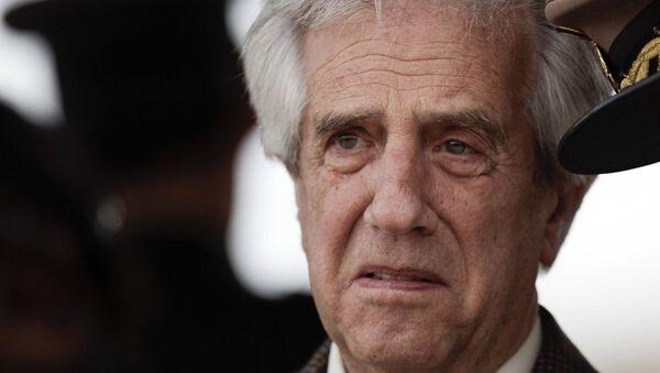 Uruguay Devlet Başkanı Tabare Varquez - Sputnik Türkiye