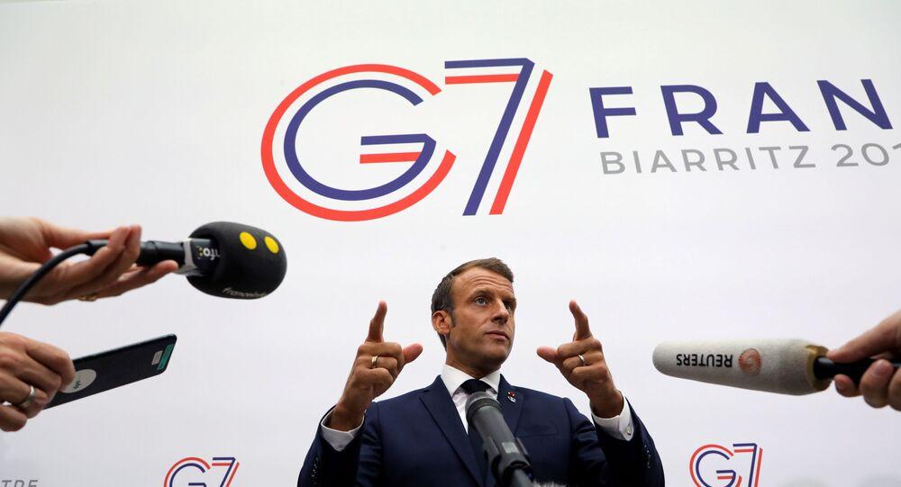 Emmanuel Macron- G7