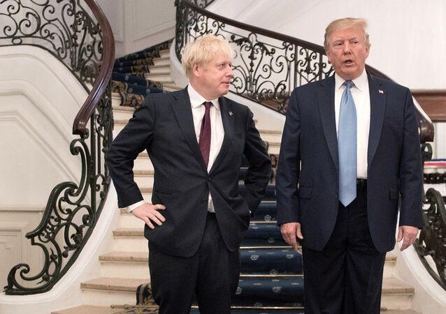 Boris Johnson -  Donald Trump