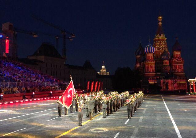 TSK Armoni Mızıkası Kızıl Meydan'da