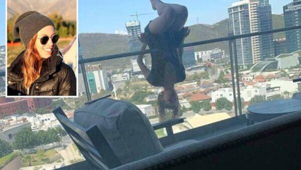 Yoga yaparken 24 metre yüksekten beton zemine çakıldı - Sputnik Türkiye