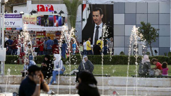 Şam Uluslararası Fuarı - 2018 - Sputnik Türkiye