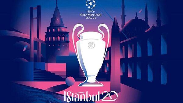İstanbul'daki Şampiyonlar Ligi finalinin logosu - Sputnik Türkiye