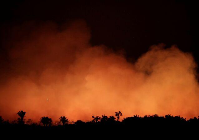 Amazonlar'da devam eden yangınla mücadele konusunda sınıfta kalan Brezilya Devlet Başkanı Jair Bolsonaro, yabancı yardımları kabul etmesi konusunda eyalet valileri tarafından baskı görüyor. Valiler, Bolsonaro'ya 'parayı reddetmenin zamanı değil' uyarısında bulundu.