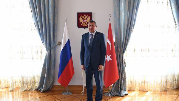 Rusya Federasyonu İstanbul Başkonsolosu Andrey Buravov - Sputnik Türkiye