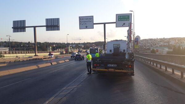 Vatan Caddesi trafiğe kapatıldı - Sputnik Türkiye