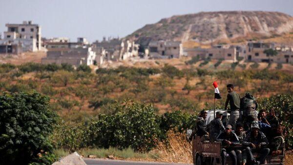 Suriye ordusu - Sputnik Türkiye