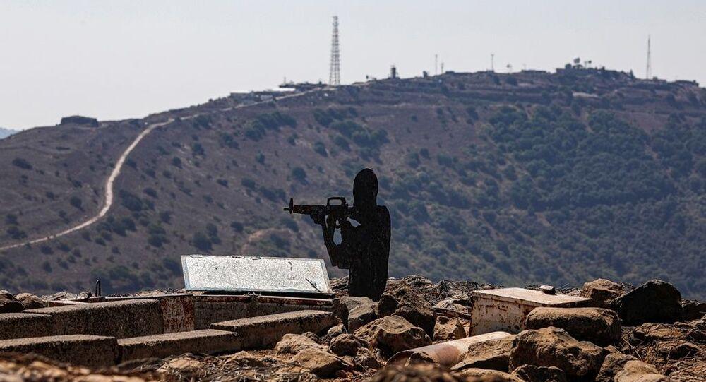 Golan Tepeleri - İsrail ordusu karakolu