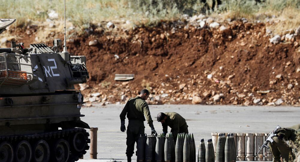 İsrail ordusu, füze, Lübnan sınırı