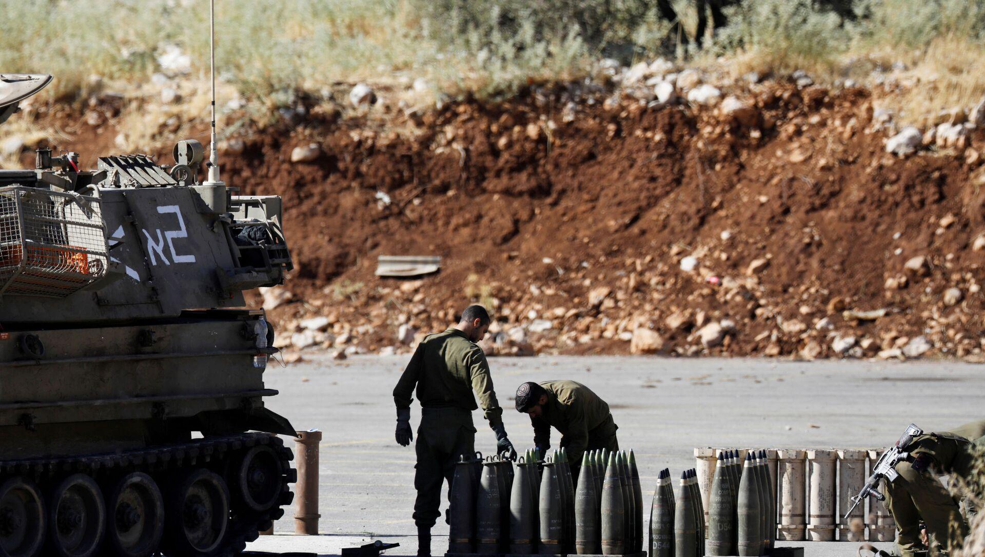 İsrail ordusu, füze, Lübnan sınırı - Sputnik Türkiye, 1920, 22.04.2021