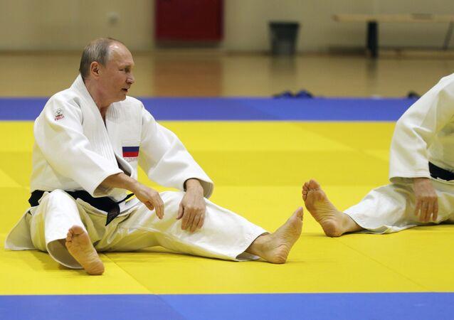 Vladimir Putin- Judo