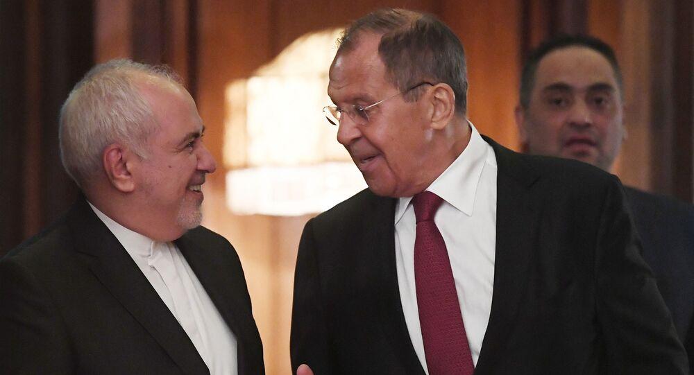 Dışişleri Bakanı Sergey Lavrov ve İran Dışişleri Bakanı Cevad Zarif