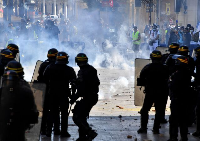 Fransa'da Sarı Yelekler gösterilerin 43. haftasında yeniden sokaklarda