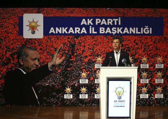 AK Parti Ankara İl Danışma Meclisi toplantısı, Mamak Necmettin Erbakan Kültür Merkezi'nde gerçekleşti. AK Parti Genel Sekreteri Fatih Şahin, toplantıya katılarak konuşma yaptı.