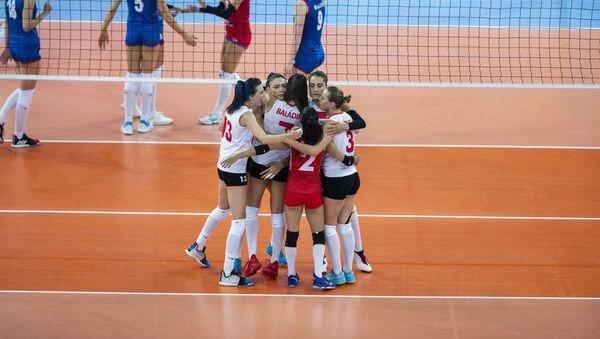 2019 Kadınlar Avrupa Voleybol Şampiyonası final maçı - Sırbistan - Türkiye - Sputnik Türkiye