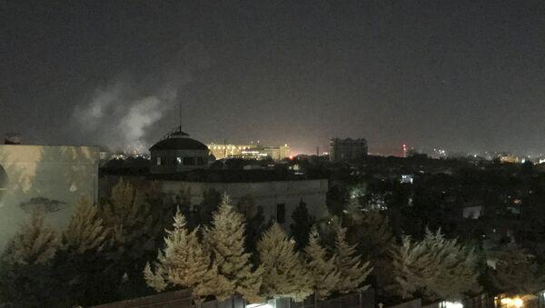 ABD'nin Afganistan'daki büyükelçiliği yakınlarında 11 Eylül yıldönümünün ilk dakikalarında patlama meydana geldi - Sputnik Türkiye