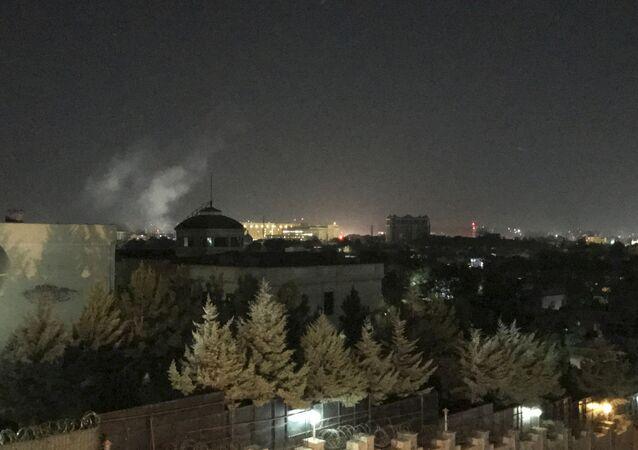 ABD'nin Afganistan'daki büyükelçiliği yakınlarında 11 Eylül yıldönümünün ilk dakikalarında patlama meydana geldi