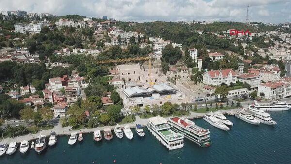 Kuruçeşme'deki otel inşaatı - Sputnik Türkiye