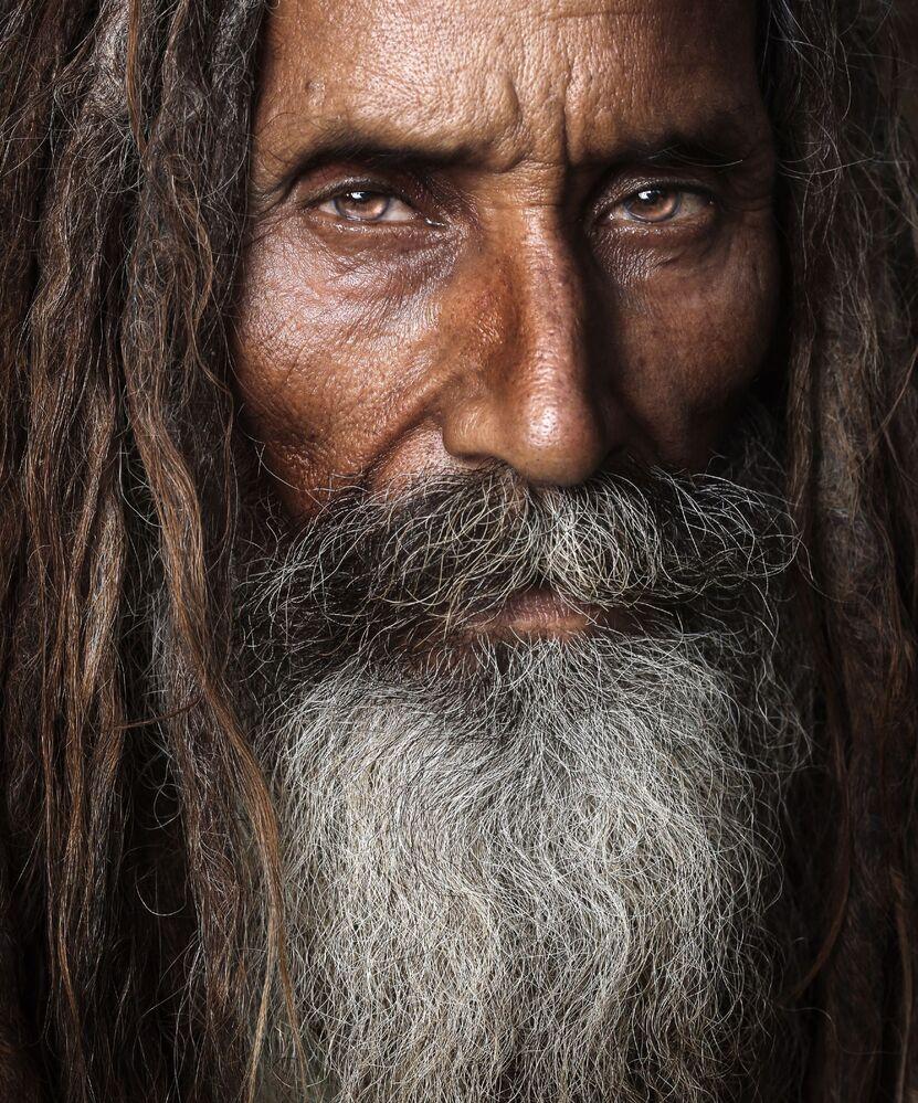 Pakistanlı fotoğrafçı Asim Ijaz'ın yarışmaya sunduğu  portre çalışması.