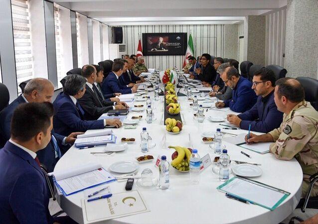 Türkiye ve İran arasında Alt Güvenlik Komite Toplantısının 90'ıncısı Ağrı'da yapıldı