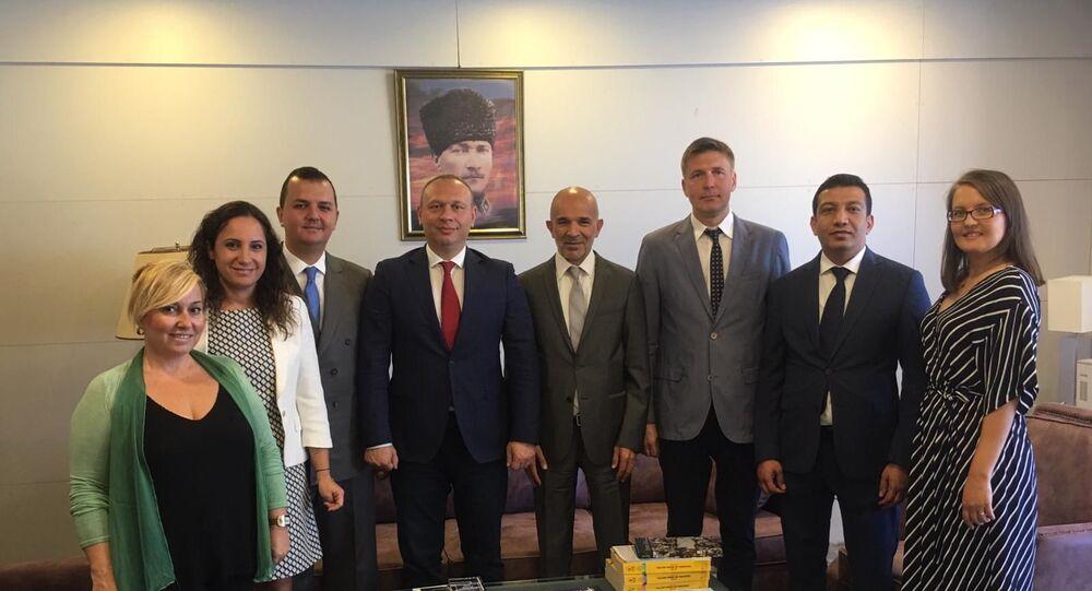 'ROST Rus-Türk Ticaret Evi' ile Orta Ural Kalkınma Şirketi'nden işbirliği anlaşması