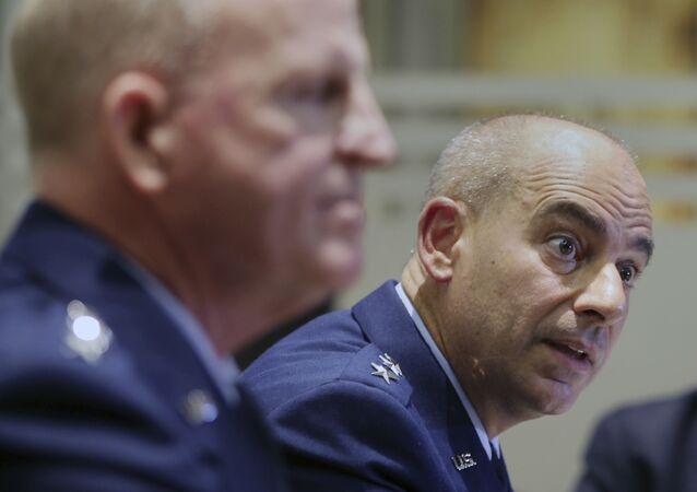 ABD'nin Avrupa, Afrika ve NATO Hava Kuvvetleri Komutanı Jeffrey L. Harrigian