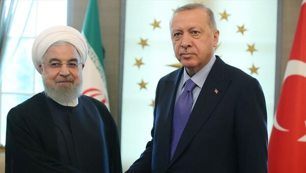 Recep Tayyip Erdoğan-Hasan Ruhani - Sputnik Türkiye