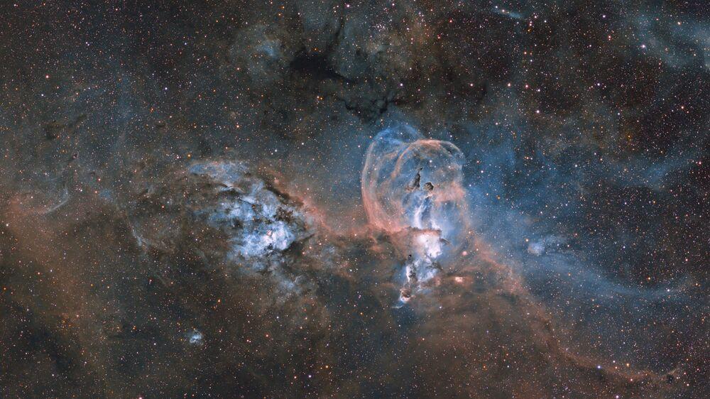 Yarışmanın Yıldızlar ve Nebulalar kategorisinde birincilik kazanan Arjantinli fotoğrafçı Ignacio Diaz Bobillo'nun fotoğrafı.