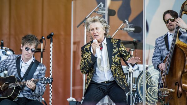 İngiliz şarkıcı Rod Stewart - Sputnik Türkiye