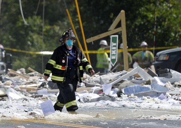 ABD'de gaz patlaması: 1 ölü, 6 yaralı