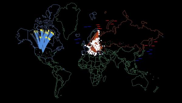 Simülasyona göre ABD-Rusya nükleer savaşı, saatler içinde 34 milyon insanı öldürebilir - Sputnik Türkiye