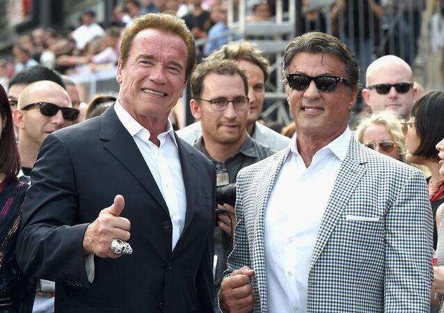 Arnold Schwarzenegger - Sylvester Stallone