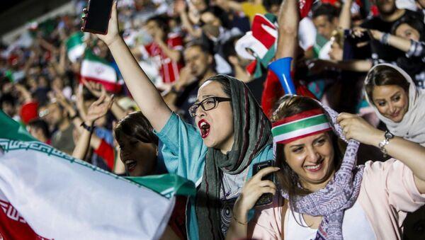 İran - kadın - futbol - Sputnik Türkiye