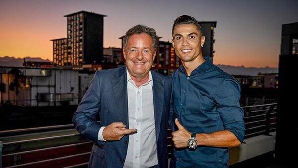 Ronaldo - Piers Morgen  - Sputnik Türkiye