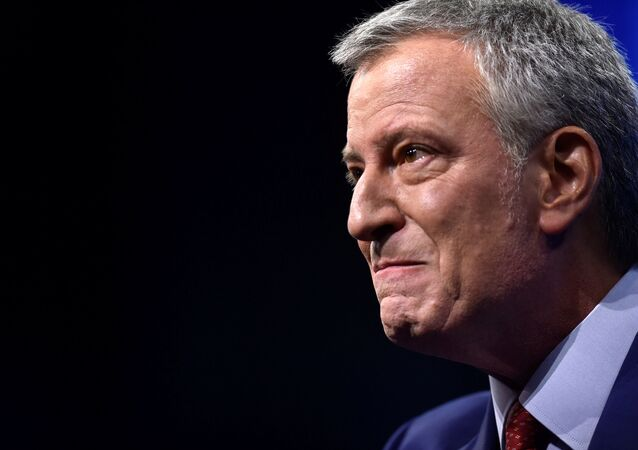 Bill de Blasio, Demokrat Parti'nin New Hampshire eyaleti kongresinde