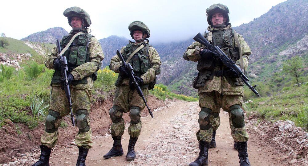 Tacikistan'da Rus Ordusu