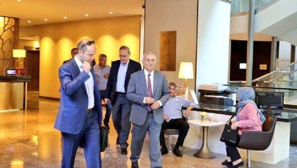 Durmuş Yılmaz, IMF görüşmesi - Sputnik Türkiye