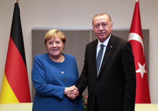 Cumhurbaşkanı Erdoğan, ABD'de resmi temaslarda bulundu