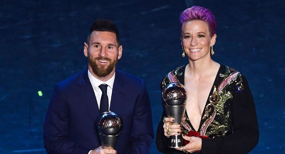 Lionel Messi ve Megan Rapinoe