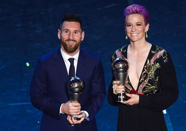 Lionel Messi ve Megan Rapinoe