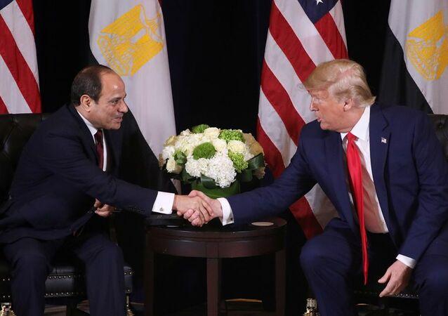 Abdulfettah es-Sisi  - Donald Trump