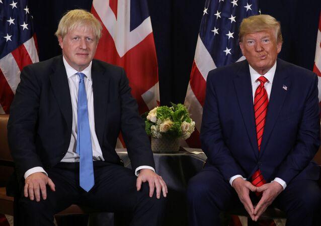 Trump, İngiltere Başbakanı Johnson ile görüştü
