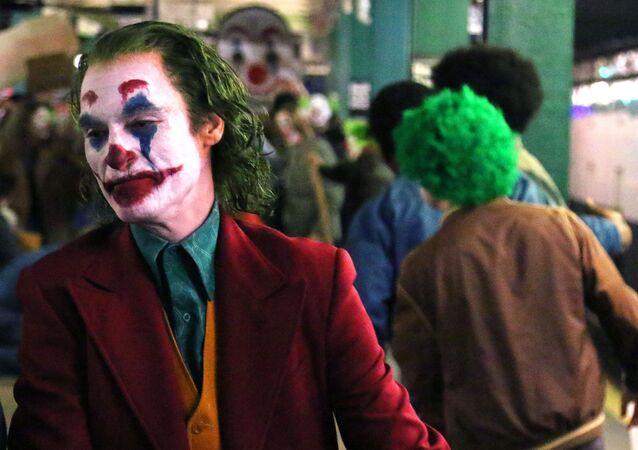 Joker filminin başrolündeJoaquin Phoenix