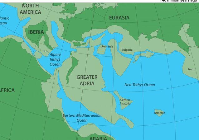 Avrupa'nın altında Grönland büyüklüğünde 'kayıp kıta' keşfedildi