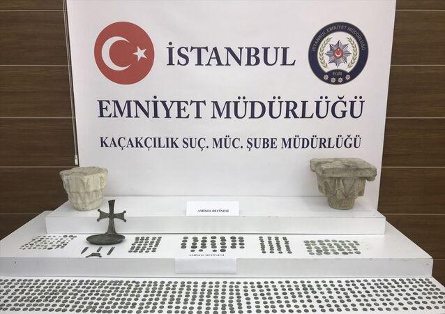 İstanbul'da tarihi eser kaçakçılığı