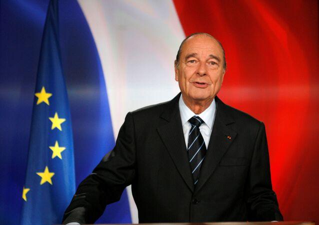 Fransa'nın eski cumhurbaşkanı Jacques Chirac