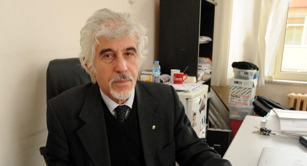 Çanakkale Onsekiz Mart Üniversitesi'nden (ÇOMÜ) emekli Prof. Dr. Doğan Perinçek